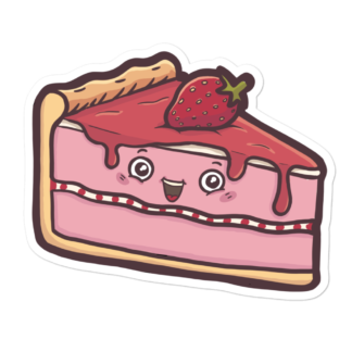 Sticker part de Fraisier