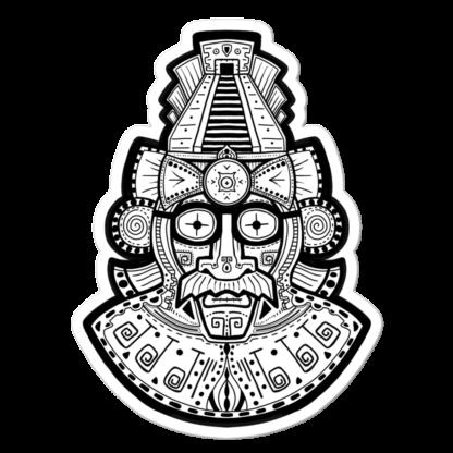 Sticker Masque de Maya Moustachu