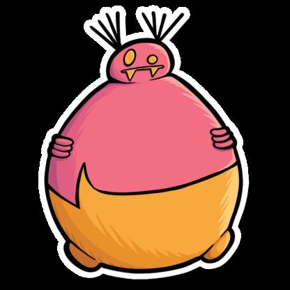 Fat Gourg Sticker